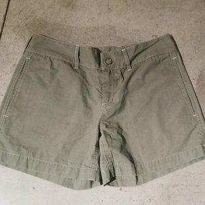 Old Navy olive shorts